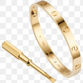 Jewellery - Love Bracelet Cartier Jewellery Gold PNG