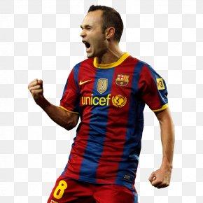 Fc Barcelona - Andrés Iniesta Spain National Football Team FC Barcelona Football Player PNG