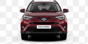 Toyota - Mini Sport Utility Vehicle 2018 Toyota RAV4 Hybrid Compact Sport Utility Vehicle Car PNG