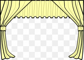 Curtain Cliparts - Theater Drapes And Stage Curtains Front Curtain Clip Art PNG