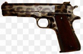 Weapon - Trigger M1911 Pistol Firearm Revolver PNG