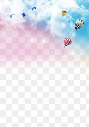 Colorful Sky Background - Paper Recruitment Poster Graduation Ceremony Wallpaper PNG