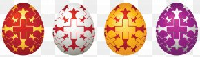 Easter Eggs Set Clipart Picture - Easter Bunny Easter Egg Clip Art PNG