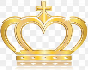 Vector Gold Crown PNG