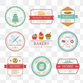 Vector Cake LOGO - Bakery Logo Baking PNG