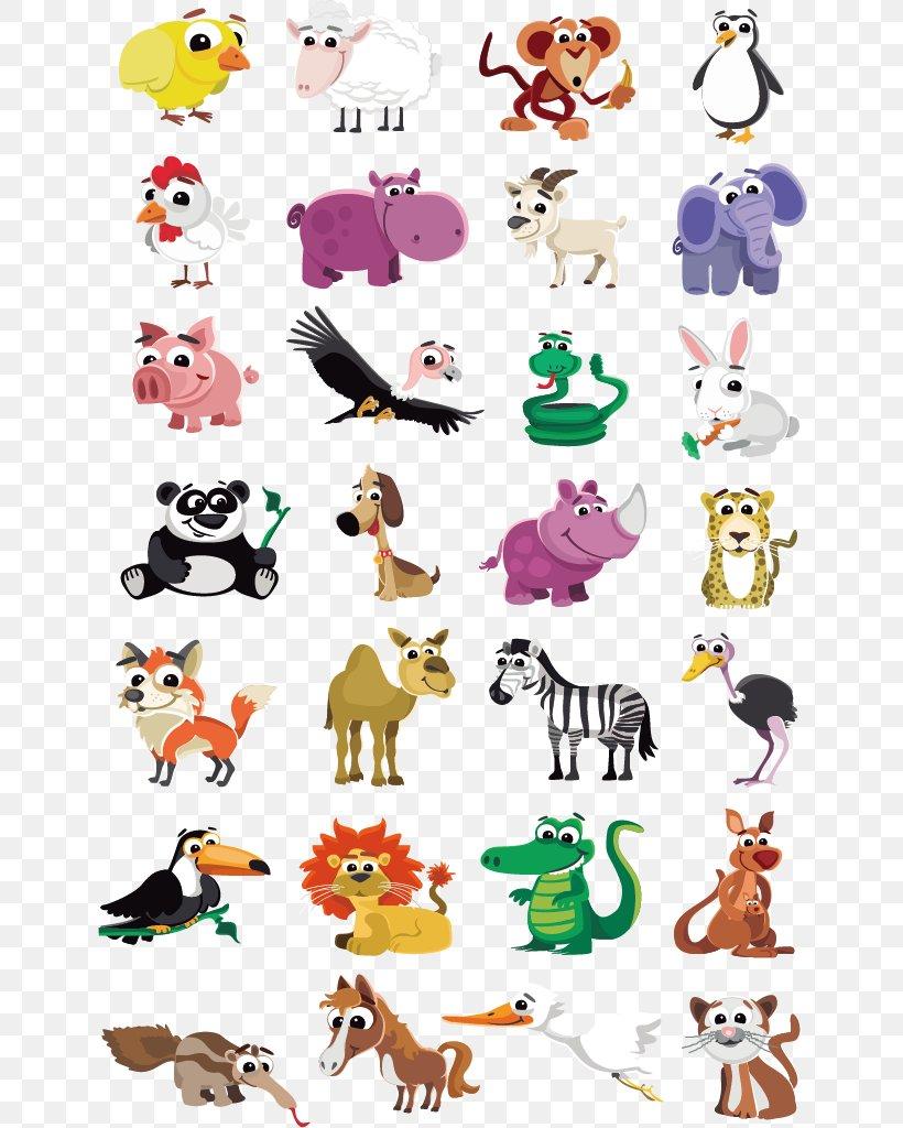 Cute Animal Vector, PNG, 20x20px, Cartoon, Animal, Art, Clip ...