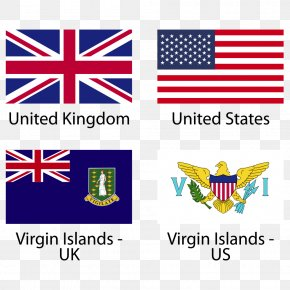 European And American Flags - England Flag Of Wales Flag Of The United Kingdom PNG