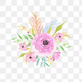 Watercolor Flowers - Floral Design Watercolor Painting PNG