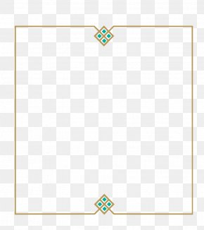 Luxury Border - Paper Green Area Rectangle PNG