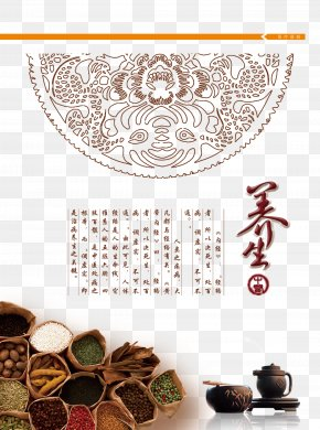 Chinese Medicine Health Page - Traditional Chinese Medicine Computer File PNG