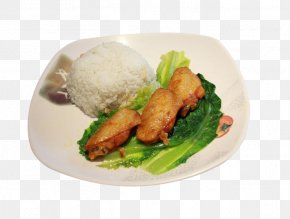 Delicious Chicken Rice - Karaage Hainanese Chicken Rice Fried Chicken Cooked Rice PNG