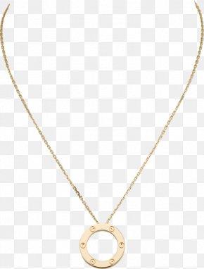 Golden Chain - Earring Cartier Necklace Jewellery Love Bracelet PNG