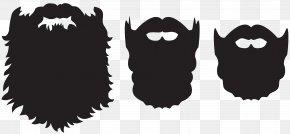 Beard Set Clip Art Image - Beard Santa Claus Clip Art PNG