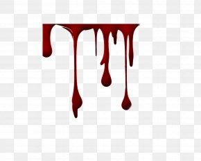Blood Drop - Blood Tattoo Wound Scar Clip Art PNG
