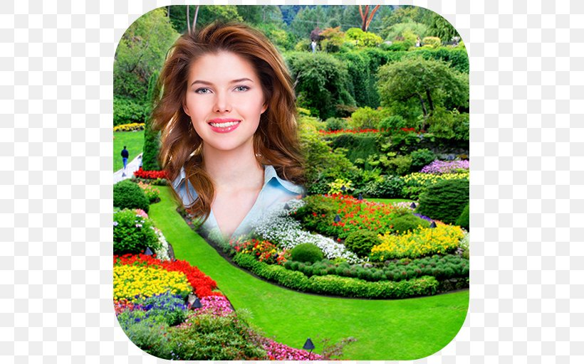 Picture Frames Garden Download, PNG, 512x512px, Picture Frames, Android, Botanical Garden, Flora, Flower Download Free