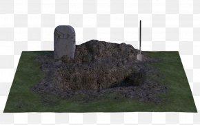 Moonlight - Headstone Grave Tomb Rendering Artist PNG
