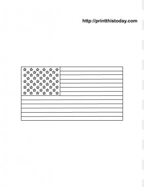 American Flag Printable - Page Coloring Book Flag Of The United States Child Drawing PNG