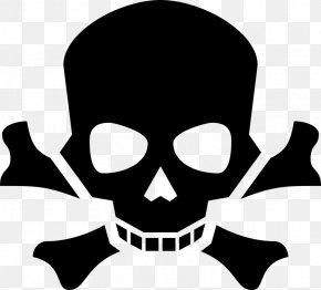 Skull - Skull And Crossbones Poison Human Skull Symbolism PNG