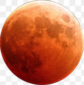 Blood Moon - Blood Moon Supermoon January 2018 Lunar Eclipse PNG