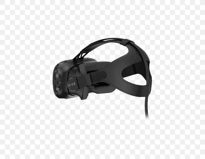 HTC Vive Head-mounted Display Oculus Rift Wireless Virtual Reality, PNG, 500x638px, Htc Vive, Black, Fashion Accessory, Game Controllers, Hardware Download Free