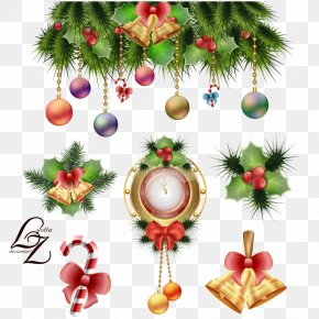 Christmas Decoration Buckle-free Material - Christmas Decoration Garland Christmas Tree Christmas Ornament PNG