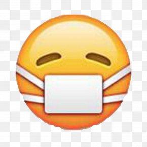 Angry Emoji - Emoji Surgical Mask Medicine Sticker PNG