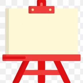 Painting Easel - Easel Art Painting Clip Art PNG