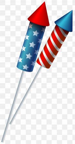 USA Sparkler Fireworks Clipart Image - Sparkler Fireworks Independence Day Clip Art PNG