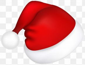 Large Red Santa Hat Picture - Santa Claus Christmas Candy PNG