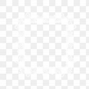 Beautiful White Frame - White Black Angle Pattern PNG