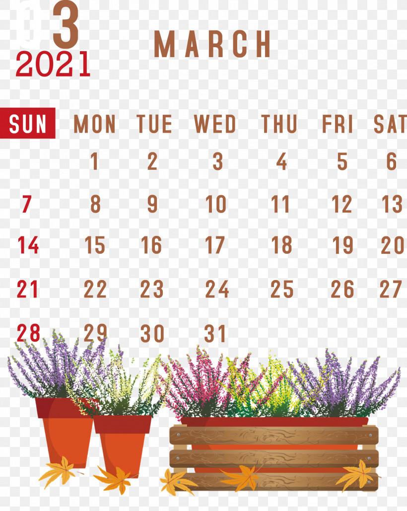March 2021 Printable Calendar March 2021 Calendar 2021 Calendar, PNG, 2389x3000px, 2019, 2021 Calendar, March 2021 Printable Calendar, Calendar System, Line Download Free