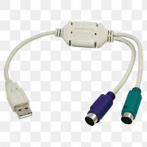 USB - PlayStation 2 PS/2 Port USB Adapter Electrical Cable PNG