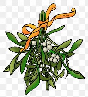 Mistletoe Cliparts - Mistletoe Candy Cane Clip Art PNG