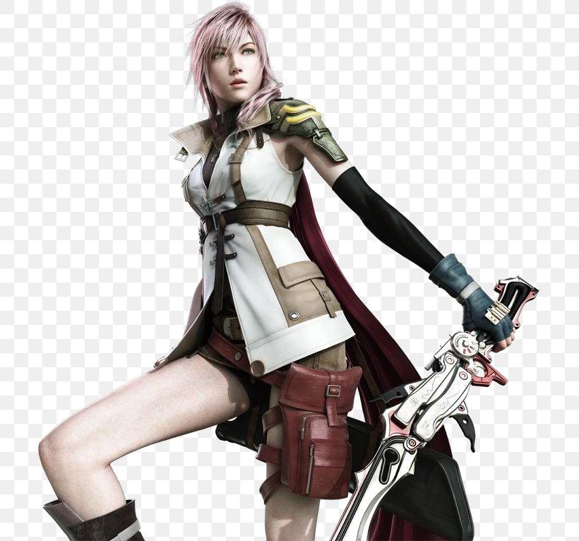 Final Fantasy XIII-2 Lightning Returns: Final Fantasy XIII Final Fantasy XV, PNG, 711x766px, Final Fantasy Xiii, Brown Hair, Costume, Figurine, Final Fantasy Download Free