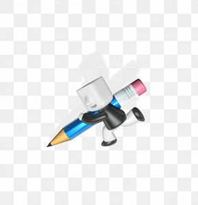 That Pencil Model Villain - Paper Pencil PNG
