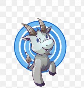 Cartoon Goat - Goat Line Art Clip Art PNG