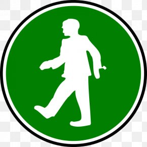 Walking Icon - Symbol Personal Protective Equipment Clip Art PNG