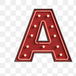 Red English Alphabet - English Alphabet Letter PNG