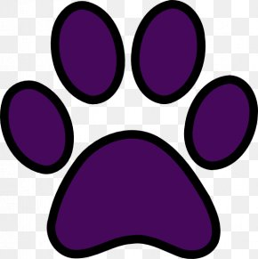 Panther Paw Cliparts - Siberian Husky Cat Tiger Puppy Paw PNG