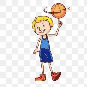 Team Sport Basketball Hoop - Basketball Player Cartoon Basketball Basketball Playing Sports PNG
