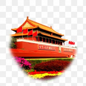 Great Wall Of China - Tiananmen Square Great Wall Of China 天安門前 Image PNG