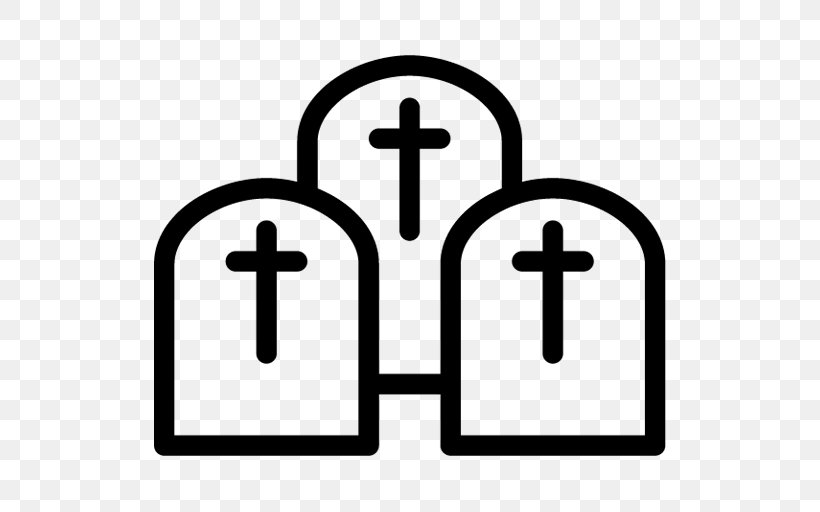 Cemetery Headstone Download, PNG, 512x512px, Cemetery, Area, Grave, Headstone, Symbol Download Free