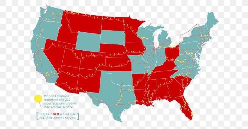 United States Of America Amtrak Train U.S. State Subsidy ...