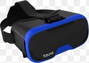 Black Dreamvision Virtual Reality Smartphone HeadsetTzumi Dream Vision Virtual Reality Headset - Dream Vision DreamVision Virtual Reality Headset PNG