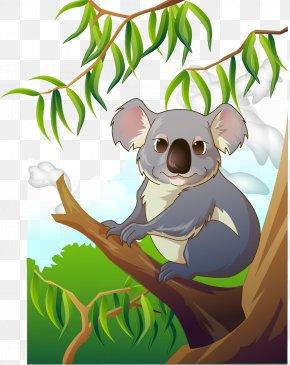 Lovely Koala - Koala Clip Art PNG