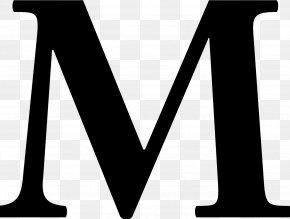 M - Letter Linux Libertine Typeface Font PNG