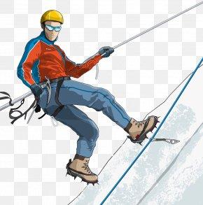 Snow Mountain Climbing - Climbing Mountaineering Snow PNG