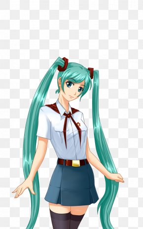 Hatsune Miku - Everlasting Summer Hatsune Miku Vocaloid Game Visual Novel PNG