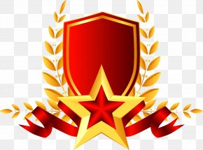 Wheat Badge - Defender Of The Fatherland Day February 23 Clip Art PNG