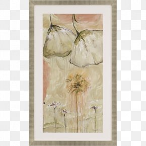 Glass - Floral Design Watercolor Painting Paper Still Life Picture Frames PNG